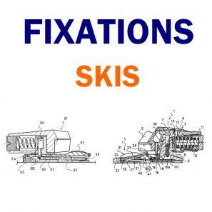 Fixations Piste